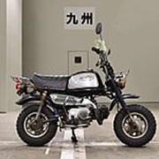 Мопед мокик Honda Monkey Gorilla рама Z50J гв 1992 передний и задний багажник пробег 24 т.км синий серебристый фото