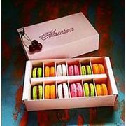 Коробочки для 12 макаронс фото
