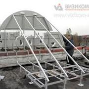Изготовление рекламной крышной конструкции фото