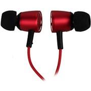 Наушники вкладыши с микрофоном Baseus, Encok Wire H07 Red Black, мобильная гарнитура, красно-черные фото