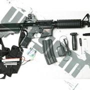 Игрушечная модель штурмовой винтовки M4 CQB фото