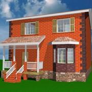 Энергосберегающий дом 130 м кв. фото