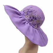 """Летняя шляпа """"Испания"""" #1402-209 фото"""