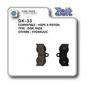 Колодка дисковая Zeit DK-33 фото