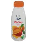Йогурт питьевой с абрикосом и манго 1,5%, 330г фото