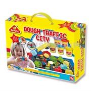 Пластилин-тесто Happy dough Транспорт и город фото