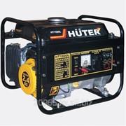 Бензиновый электрогенератор HUTER HT1000L (1000Вт) фото