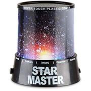 Проектор звездного неба Star master black + Адаптер 220В фото