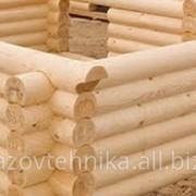 Сруб под ключ / house made of wood фото