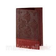 Обложка для паспорта Флора, 009-10-01К фото