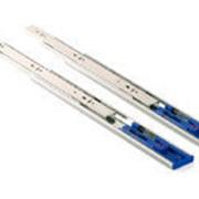 Шариковые направляющие полного выдвижения Firmax Soft-Close 1 пружина, H=45 мм, L=350 мм фото
