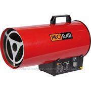 Тепловая пушка PRORAB на сжиженном газе 15кВт, 500м3/ч, расход газа 1.2л/ч, 0.5bar LPG15 фото