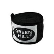 Бинт боксерский Green Hill BC-6235a 2,5м черный фото