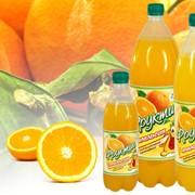 Напиток безалкогольный низкокалорийный сильногазированный «Фруктик - Апельсин» (0.5, 1.25, 2.0 л ) фото