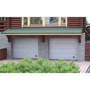 Ворота секционные гаражные с электроприводом (пример: ширина-3м, высота-2,5м)