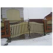 Ворота Кованые 4 фото