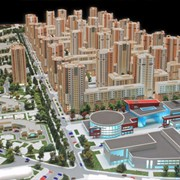 Изготовление градостроительных макетов фото