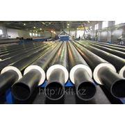 Труба стальная в ППУ изоляции d720 ГОСТ 30732-2006 фото