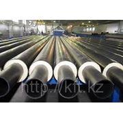 Труба стальная в ППУ изоляции d32 ГОСТ 30732-2006 фото