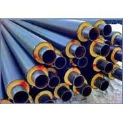 Труба стальная в ППУ изоляции d 38 ГОСТ 30732-2006 фото