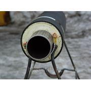 Труба стальная в ППУ изоляции d76 ГОСТ 30732-2006 фото