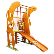Спортивный уголок для малышей - Белочка Юнга мини фото