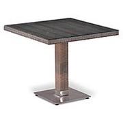Плетеный стол T503SG-W1289-80х80 Pale фото