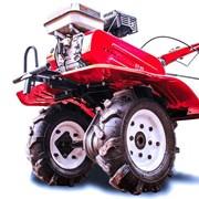 Мотоблок Shtenli 900, 8 л.с., колеса 4*8 с фарой и дифференциалами фото