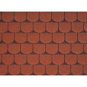 Битумная черепица IKO VICTORIAN Tile Red Ultra фото