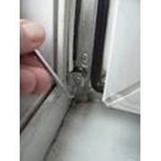 Регулировка петлевой группы окна, двери ПВХ фото