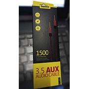 Кабель AUX 1.5м remax фото