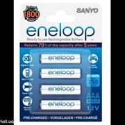 Аккумулятор AAA SANYO Eneloop 800mAh Ni-MH R03 HR-4UTGA-48P фото