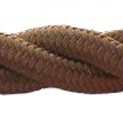 Матерчатый провод 3х2,5 Brown(коричневый) арт 1032502 фото