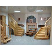 Винтовые деревянные лестницы фото