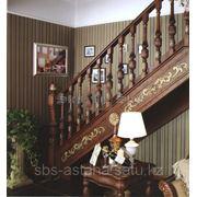 Лестница из массива дуба фото