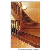 Забежная ступень для лестницы фото