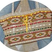 Сумка вязанная ручной работы. фото