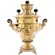 Самовар жаровой ваза Баташев 4 литра Эксклюзивный фото