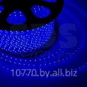 LED лента Neon-Night, герметичная в силиконовой оболочке, 220V, 13*8 мм, IP65, SMD 5050, 60 диодов/метр, цвет светодиодов синий, бухта 50 метров фото