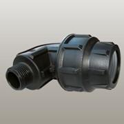 """Угол с наружной резьбой Suyap Plastik O 40x1 1/4"""" S-KED-40 фото"""