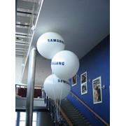Рекламный шар на выставку фото