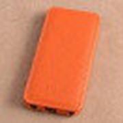 Чехол книжка Melkco для iPhone 5C (Orange LC) фото