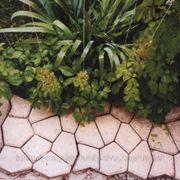 Формы пластиковые для садовых дорожек фото