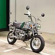 Мопед мокик Honda Monkey Gorilla рама Z50J гв 2000 задний багажник пробег 10 т.км платиновый фото