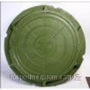 Легкий люк полимерный (садовый) фото