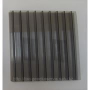 Сотовый поликарбонат, 6х2.1, бронза, толщина 8мм фото