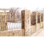 Кованый забор, экс. № 26 фото