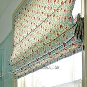 Пошив римской шторы фото