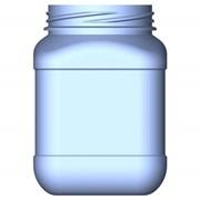 ПЭТ банка. Упаковка пластиковая для косметических средств, масложировой продукции фото
