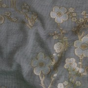 Тюль MYB Textiles, Oriental blossom 10445-7 фото